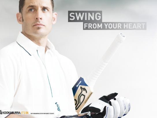 Kookaburra Print Ad -  Heart