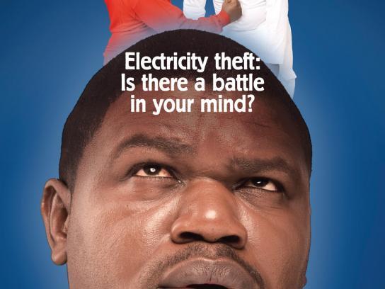 Kenya Power and Lighting Company Print Ad -  Battle