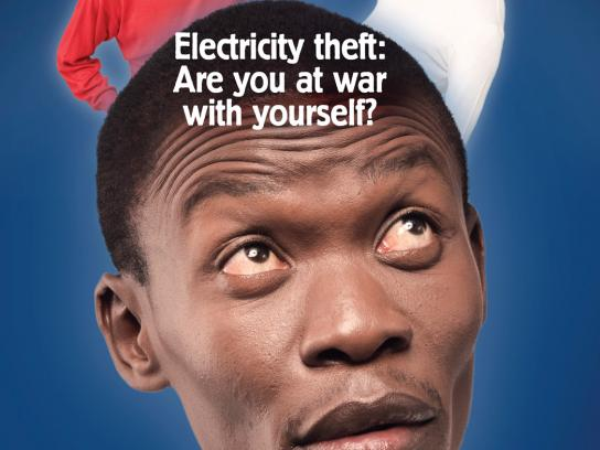 Kenya Power and Lighting Company Print Ad -  War