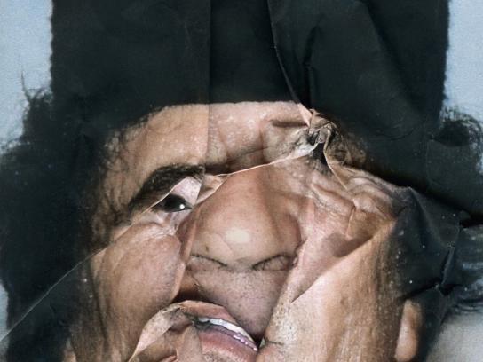 Reporters Without Borders Print Ad -  Kadhafi