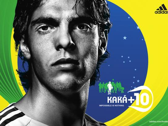Impossible is nothing, Kaka