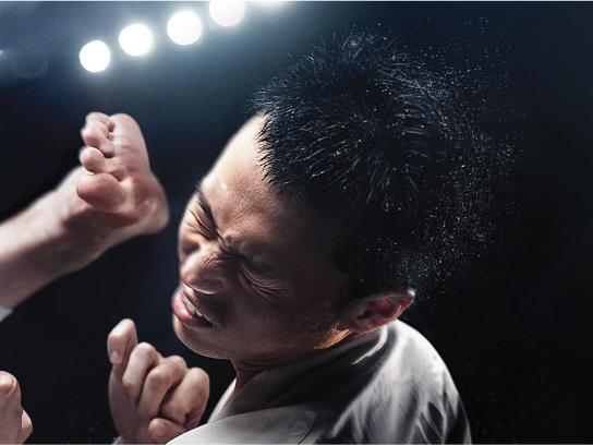 Head & Shoulders Print Ad -  Karate