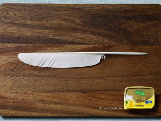 Kerrygold Print Ad -  Feather