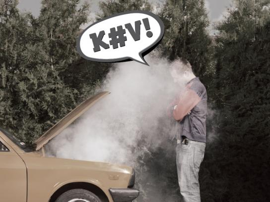 Greenpeace Print Ad -  Dirty Kev, Car