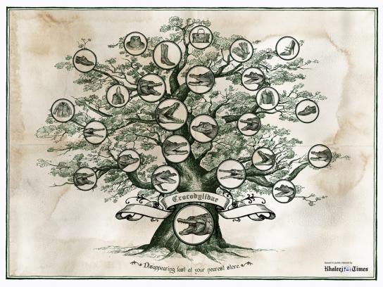 Khaleej Times Print Ad -  Family Tree