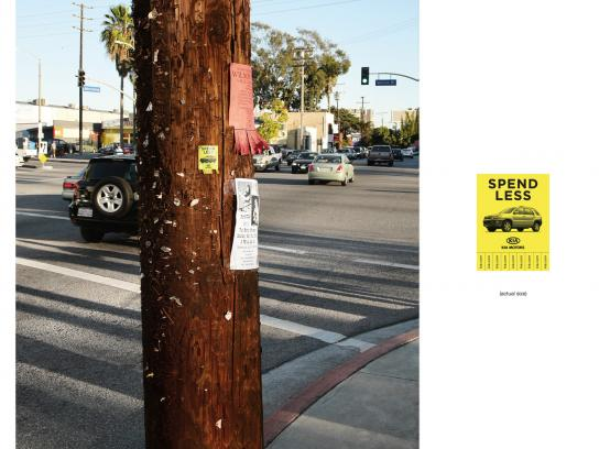 KIA Outdoor Ad -  Spend less, 1