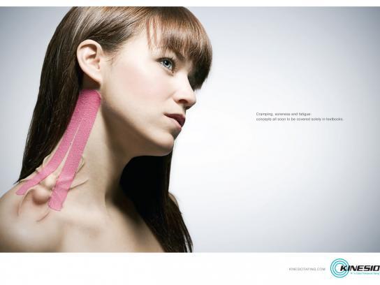 Kinesio Print Ad -  Pain