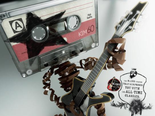 KISS FM Print Ad -  Paul Stanley
