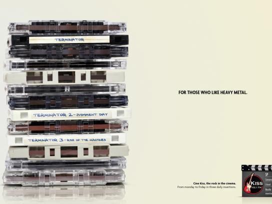 KISS FM Print Ad -  Terminator