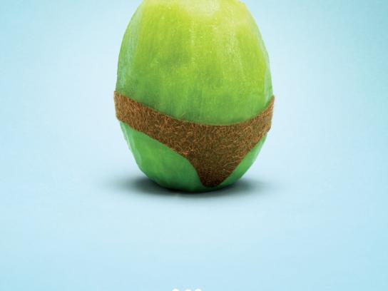 Calgary Farmers' Market Print Ad -  Kiwi