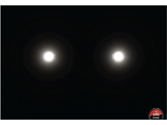Kiwi Print Ad -  Headlights