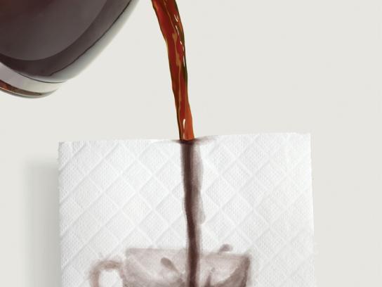 Kleenex Print Ad -  Cup