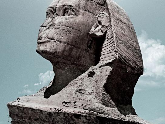 Komatsu Print Ad -  Sphinx