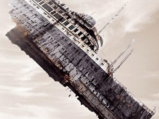 Komatsu Print Ad -  Titanic