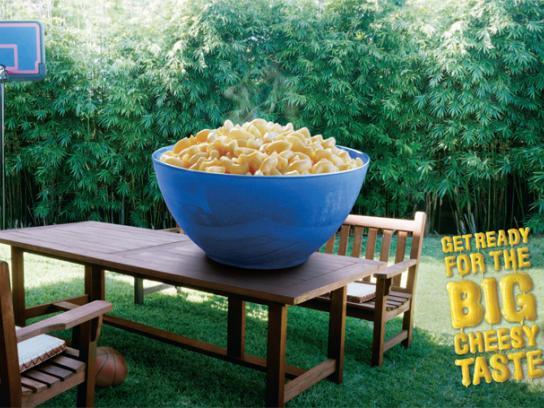Kraft Print Ad -  Bowl
