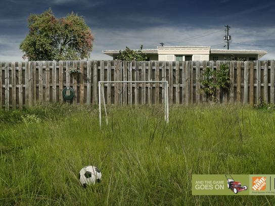 The Home Depot Print Ad -  Lawn