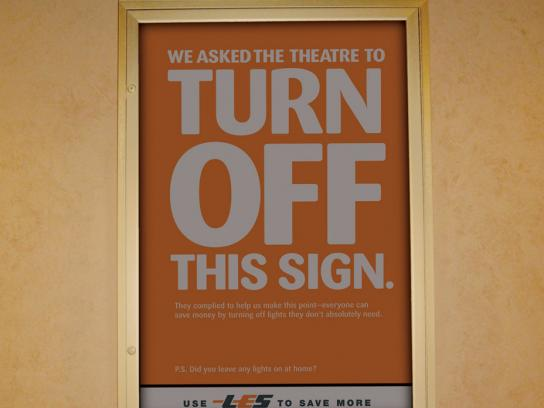 LES Outdoor Ad -  Turn off