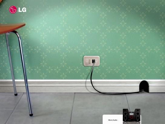 LG Print Ad -  Mouse