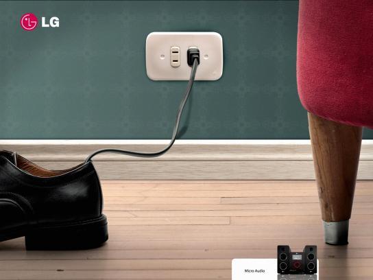 LG Print Ad -  Shoe