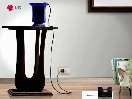 LG Print Ad -  Vase