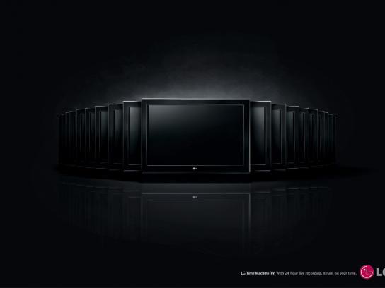 LG Print Ad -  Time