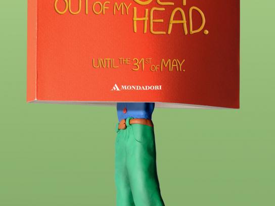 Mondadori Print Ad -  Head