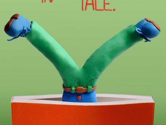 Mondadori Print Ad -  Twist