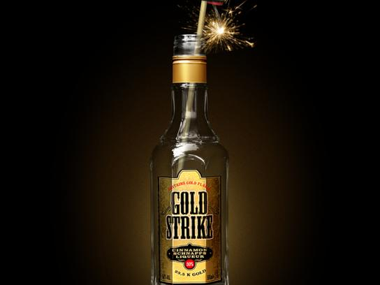 Goldstrike Print Ad -  Don't mess with the legend, Fireworks