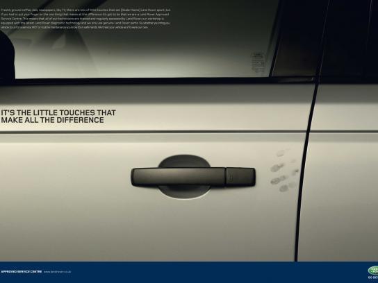 Land Rover Print Ad -  Door