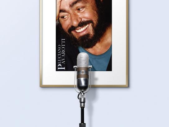Lisheng Print Ad -  Pavarotti