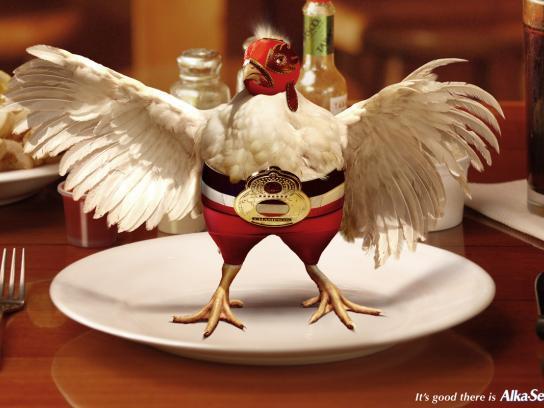 Wrestler chicken