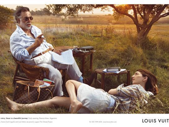 Louis Vuitton Print Ad -  Coppolas