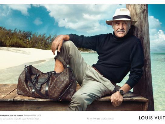 Louis Vuitton Print Ad -  Sean