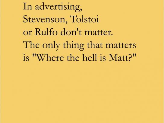 La Casa Print Ad -  Matt
