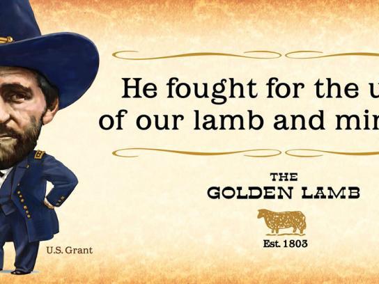 The Golden Lamb Outdoor Ad -  Legend Lives, 1