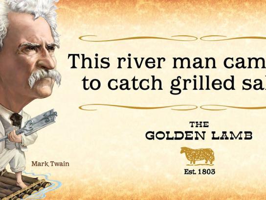 The Golden Lamb Outdoor Ad -  Legend Lives, 2