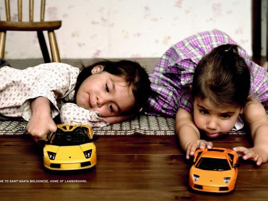 Lamborghini Print Ad -  Children