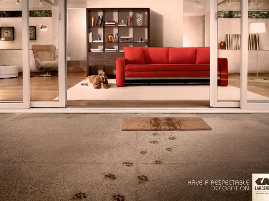 Lar Center Print Ad -  Dog