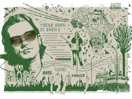 Lawrence & Mayo Print Ad -  Bono