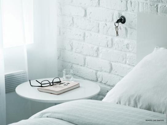 Orbit Print Ad -  Bedroom