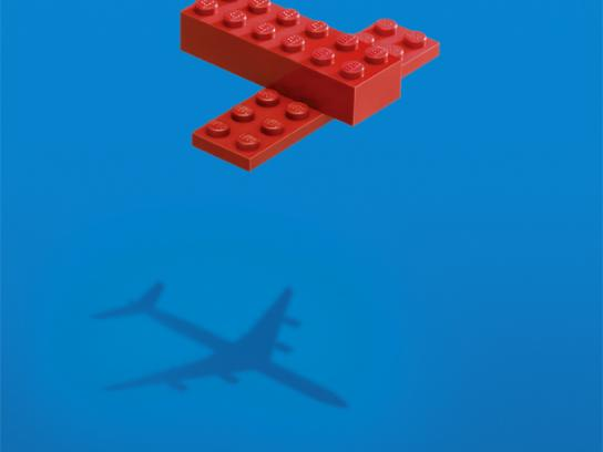 Lego Print Ad -  Plane