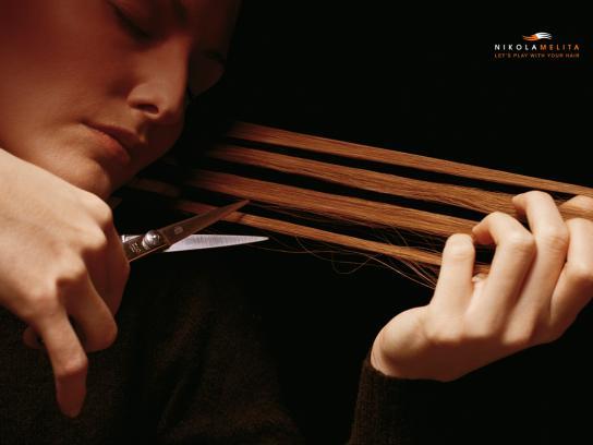 NikolaMelita Print Ad -  Violine