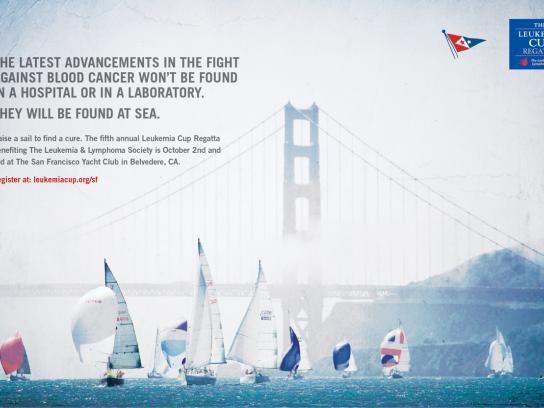 The Leukemia & Lymphoma Society Print Ad -  1
