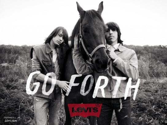 Levi's Outdoor Ad -  Horse