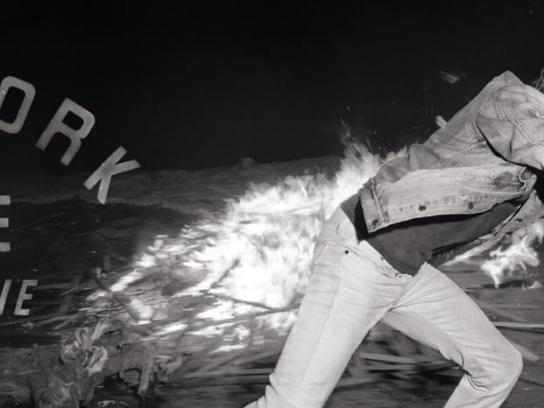 Levi's Outdoor Ad -  There is work to be done and undone