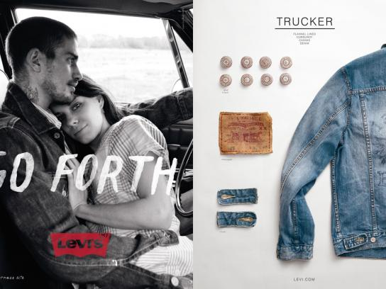 Levi's Print Ad -  Trucker