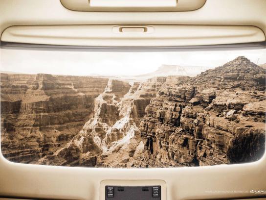 Lexus Print Ad -  Canyon