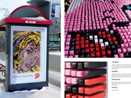 Deserres Ambient Ad -  Lichtenstein