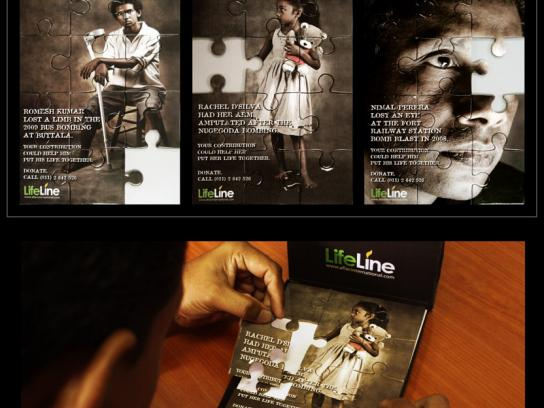 Lifeline Direct Ad -  Puzzle