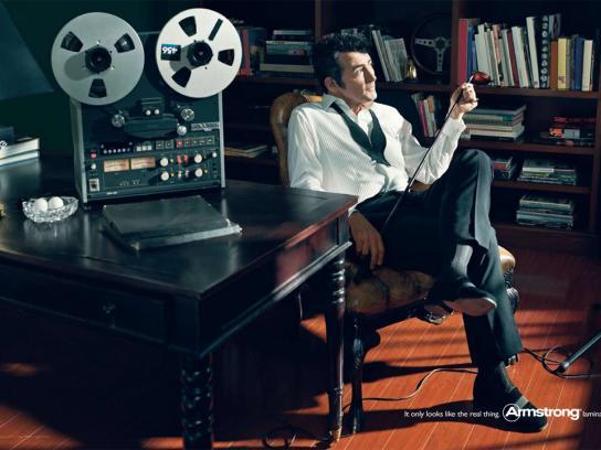 Armstrong Print Ad -  Dean Martin
